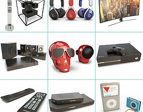 3D model Technology Accessories Collection