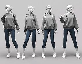 Woman Mannequin 13 3D