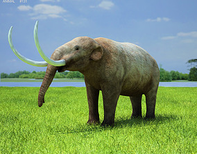 3D model Mastodon Mammut Americanum