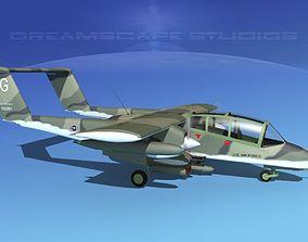 Rockwell OV-10 Bronco USAF 3 3D