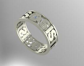 3D print model sister ring