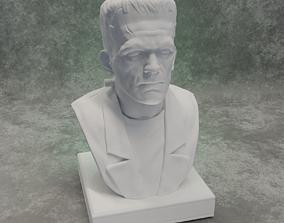Frankensteins Monster bust 3D print model