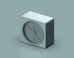 Braun Clock 3D