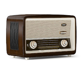 3D model fm Antique Radio