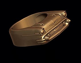 3D printable model car ring 6