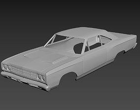 Plymouth Road Runner 1969 3D printable model