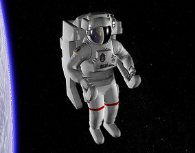 3D model Astronaut EMU