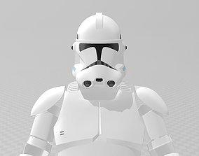 3D print model Star Wars Clone Trooper Phase 2 Full Armor