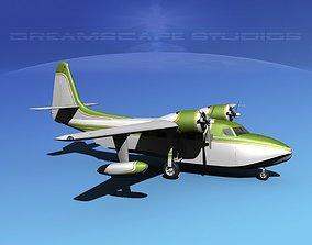 3D Grumman G-73 Mallard V12