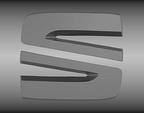 3D Seat logo