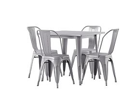 Betsey 5 Piece Dining Set 3D model