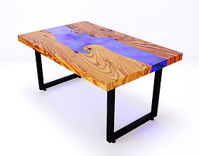 Resin river table 5 3D