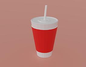 3D model Soda SoftDrink Cup