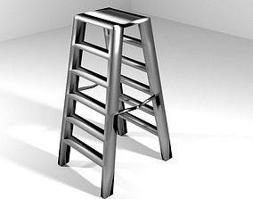 Ladder - Double Side 3D model