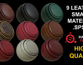 9 LEATHER SMART MATERIAL 3D model
