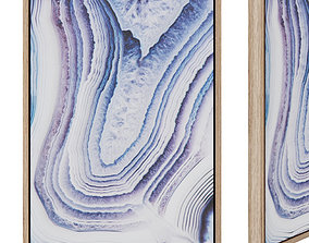 3D model Whish paintings 50 x 70 cm lilac