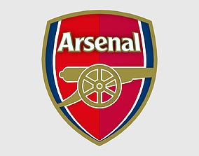 Arsenal Logo 3D