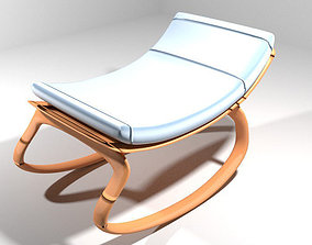 Rocking Baby Chair 3D model