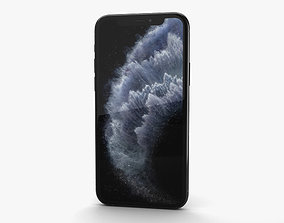 Apple iPhone 11 Pro Max Space Gray 3D