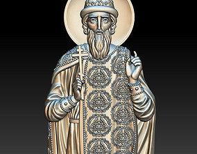 St Vladimir Icon 3D print model