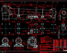 3D model DRYING DRUM
