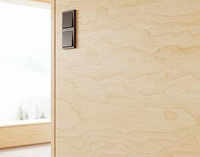 3D Pine plywood veneer texture