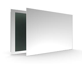 Frameless Mirror 3D model