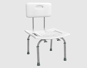 Bathroom Chair 3D asset