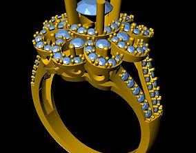 DiamondRing 3D print model inspire