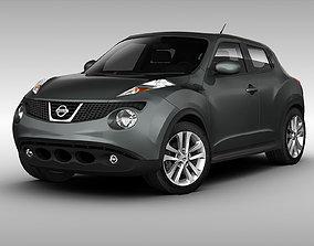 3D model Nissan Juke