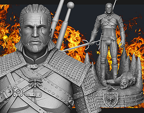 3D print model Witcher Geralt of Rivia