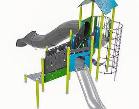 3D asset Playground Equipment 027