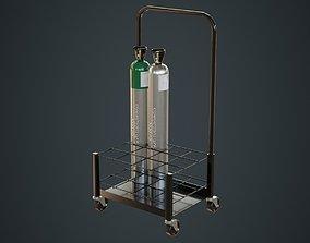 Gas Cylinder 3B 3D asset