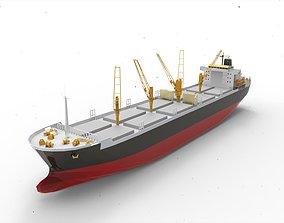 Cargo ship 3d printed