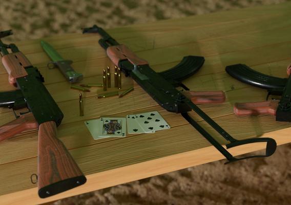 The AK-47 Kalashnikov's Automatic Rifle