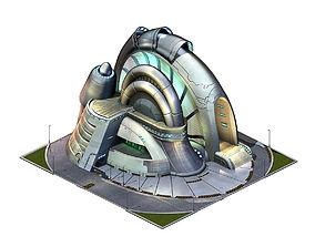 Future World - Robot Factory 02 3D model