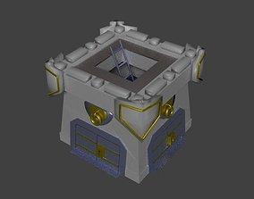 3D asset Clan Castle Clash of Clans