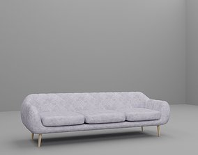Cosy comfy couch sofa great for Loft interior 3D model