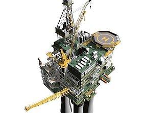 platform Oil Rig 3D