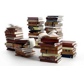 3D Stacks of Books