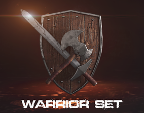 3D model Warrior Blades Pack