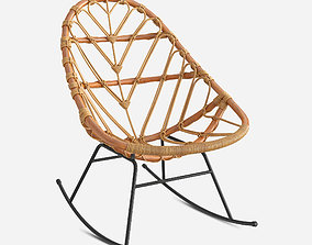3D model room Rocking chair