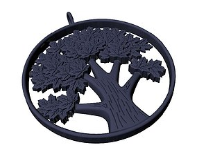 Tree of klen printable 3D print model 3d