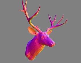 deer head decor - free download 3D model