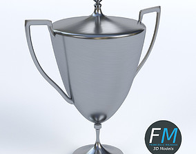 3D model Trophy cup 2
