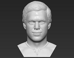 Dexter Morgan bust 3D printing ready stl obj formats