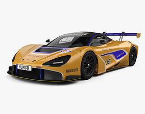 McLaren 720S GT3 with HQ interior 2019 3D