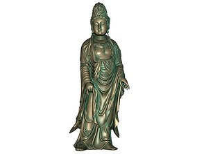 3D print model 3D asset low-poly Goddess of