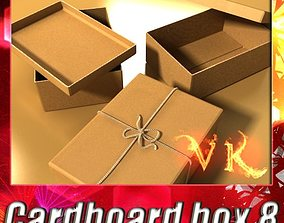 Photorealistic Cardboard Box 3D