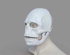 James Bond Spectre Mask Skull 3D printable model 3